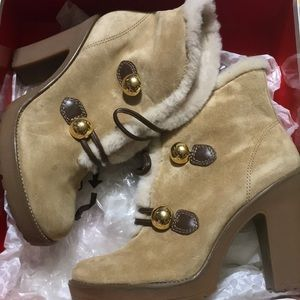 Coach winter boots